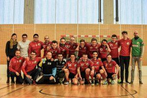 Das Floorballteam von Phönix Leipzig im Februar 2019