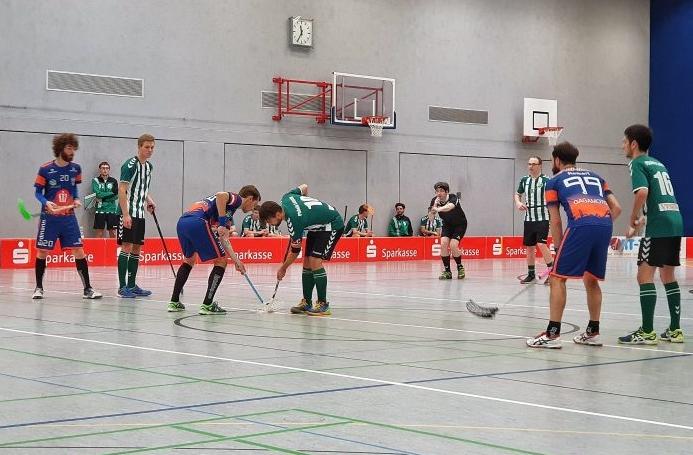Floorball-Auftakt USV Jena gegen Phönix Leipzig, Endstand 8:8