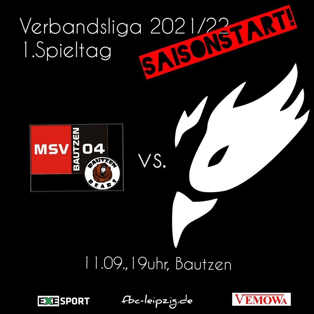 Ansetzung der Floorball-Partie MSV Bautzen gegen Phönix-Leipzig