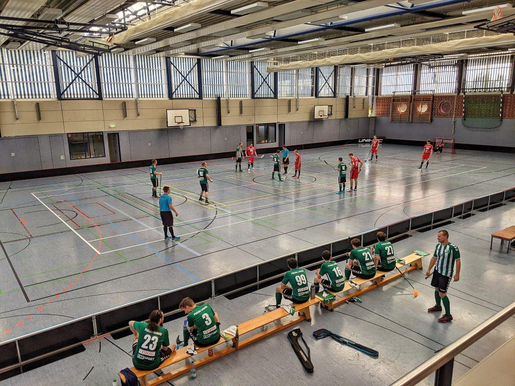 Foto aus der Floorball-Halle in Quedlinburg