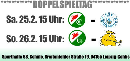 Floorball im Doppelpack: Zwei Auftritte von Phönix Leipzig