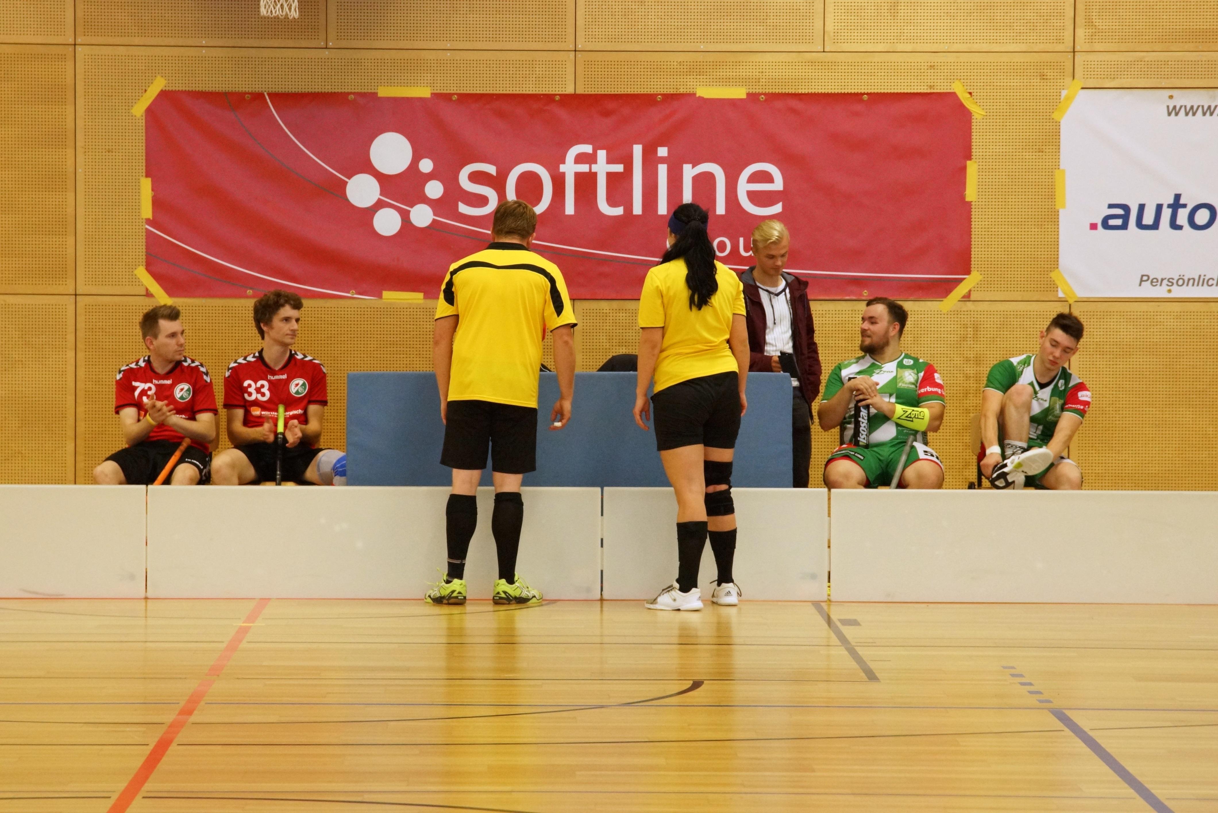 Spannendes Floorball-Derby gegen den SC DHFK Leipzig II